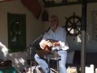 Hagekonsert hos Louis Jacoby