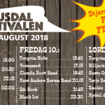 Vel blåst Gausdalfestivalen 2018!