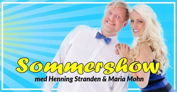 Maria Mohn & Henning Stranden sommershow i Molde