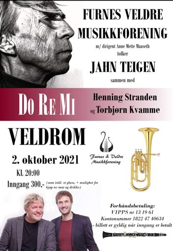 Henning Stranden solist med Furnes Veldre Musikkforening